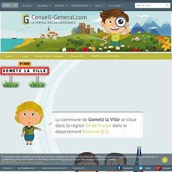 Mairie de GOMETZ LA VILLE (91400) - Conseil-General.com