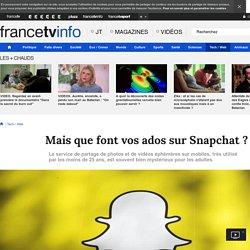 Mais que font vos ados sur Snapchat ?