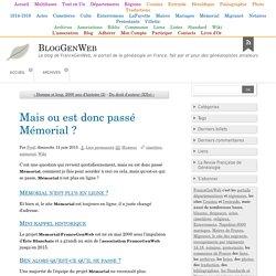 MémorialGenWeb