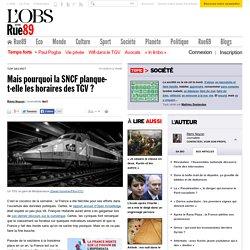 Mais pourquoi la SNCF planque-t-elle les horaires des TGV?