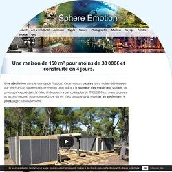 Une maison de 150 m² pour moins de 38 000€ et construite en 4 jours.