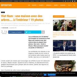 Viet Nam : une maison avec des arbres… à l'intérieur ! 19 photos