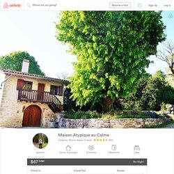 Maison Atypique au Calme - Houses for Rent in Ceignes