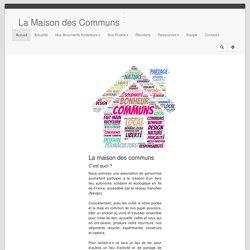 La maison des communs : PagePrincipale