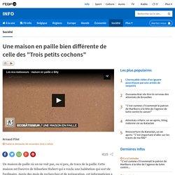 """Une maison en paille bien différente de celle des """"Trois petits cochons"""" - 06/11/16"""
