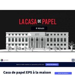 Genially : Casa de papel - EPS