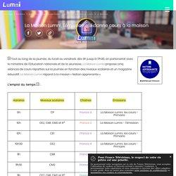 La Maison Lumni, l'émission qui donne cours à la maison - Actualité