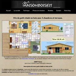 d coration de la maison construction petit chalet pas cher. Black Bedroom Furniture Sets. Home Design Ideas