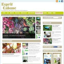 Jardin bio, esprit cabane, idées, actus pour aménager un jardin déco et bio