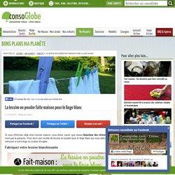 Fait maison : la lessive en poudre pour le linge blanc