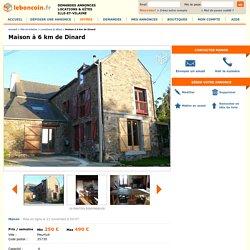 Maison à 6 km de Dinard Locations & Gîtes Ille-et-Vilaine
