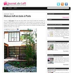 Maison loft en bois à Paris