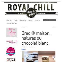 Oreo ® maison, natures ou chocolat blanc