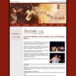 Maison Orange, Salsa et danses du monde - Cours de théâtre