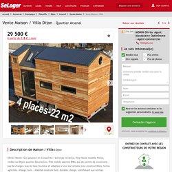 Vente maison 3 pièces Dijon - maison Maison de loisirs F3/T3/3 pièces 0m² 29500€