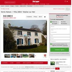 Vente maison 7 pièces Moëlan-sur-Mer - maison Maison en pierre F7/T7/7 pièces 200m² 342000€