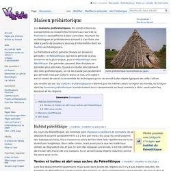 Maison préhistorique