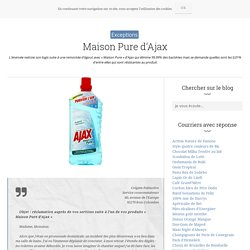 Maison Pure d'Ajax