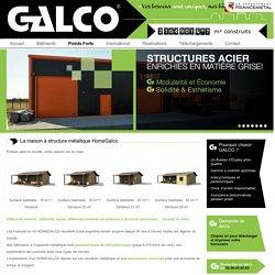 Maison à structure métallique en kit - Galco