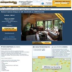 Maison à vendre à BOUTIGNY SUR ESSONNE 9 pièces 210m² vente entre particuliers