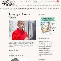 Patron gratuit veste Céline