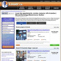 Logements à louer Mercier/Hochelaga-Maisonneuve p.4