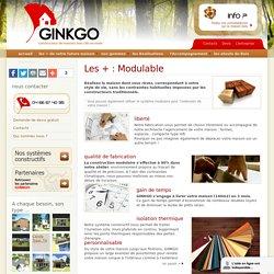 Des maisons en bois modulables - Maisons Ginkgo