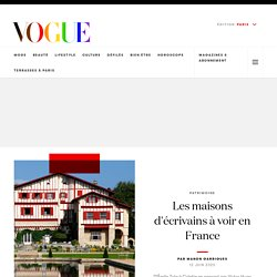 Les maisons d'écrivains à voir en France