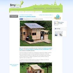 Maisons en palettes de bois