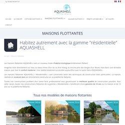 Maisons flottantes ⋆ Aquashell
