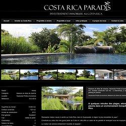 Maisons et villas de charme à vendre, 5.000 m2, Hacienda Pinilla et environs, Costa Rica