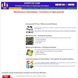 Dépannage et maitenance informatique (Cours et formations gratuits ). Kernel ou noyau de système d'exploitation