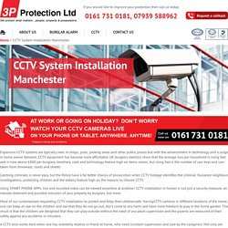 CCTV Camera Installer, Maitenenace & Repair Company in Manchester