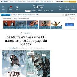 Le Maître d'armes, une BD française primée au pays du manga