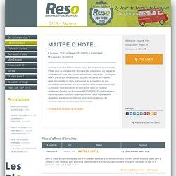 MAITRE D HOTEL - MAITRE D HOTEL