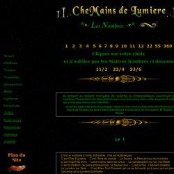 Maitres Nombres CheMains de Lumiere