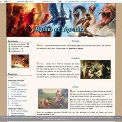 Les maitresses de Zeus - Mythes et Légendes
