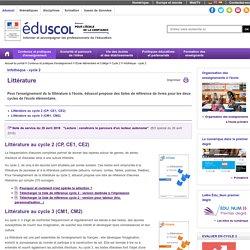 C 1 : Maîtrise de la langue française - Littérature