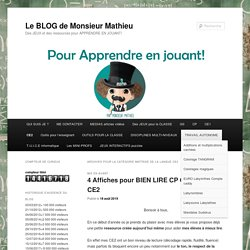 Le BLOG de Monsieur Mathieu