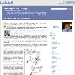 BLOG D ALBERT AMGAR 12/05/15 Maîtriser Listeria dans les usines d'aliments prêts à consommer : penser aux collecteurs d'eaux usées et aux sols.