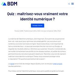 Quiz / Identité numérique