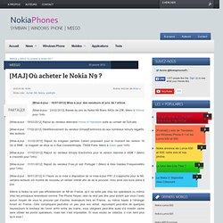 Où acheter le Nokia N9 ?