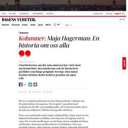 Maja Hagerman: En historia om oss alla