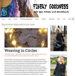Majacraft circular loom