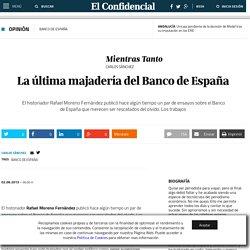 La última majadería del Banco de España
