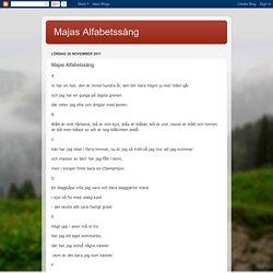 Majas Alfabetssång