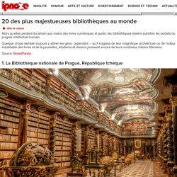 20 des plus majestueuses bibliothèques au monde