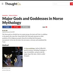 Major Gods and Goddesses in Norse Mythology