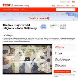 The five major world religions - John Bellaimey
