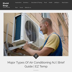 Major Types Of Air Conditioning NJ